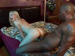 Rylie Richman takes this huge dick deep in her wet slot