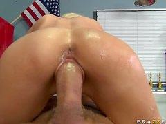 Squirting Blonde MILF Sindy Lange Gets Fucked and Facialized