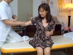 Fingering and Fucking an Asian MILF After Massage
