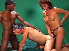 Bisexual threesome with lots of anal fucking