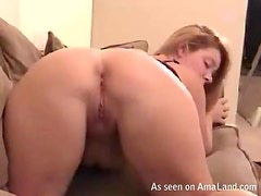Blonde Chick Gets Ass Fucked Hard