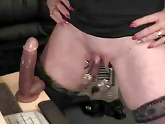 Big Clit and Pierced Pussy