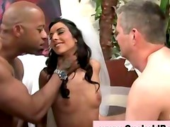 Big interracial fetish femdom dick
