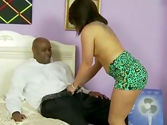 Step daughter blows new dad