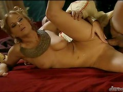 Stunning Julia Taylor getting fucked v=brutally