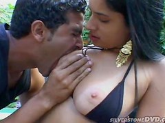 A Big Load Of Cum For A Sexy Latina's Cute Face
