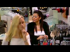 Exotic Brunette Babe Laila Rouass Goes Shopping In a Bonerific Dress