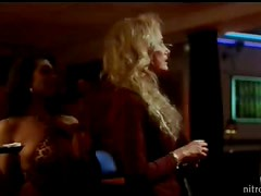 Amazing Pole Dancing By Two Hot Blond Strippers