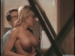 Super Busty Julia Kruis Gets Fucked On a Desk - Softcore Sex Scene