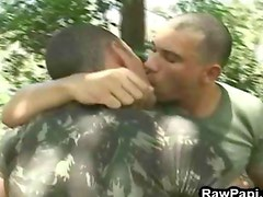 Adult Gay Hunk Fucking In The Woods