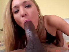 Slutty Kayla Marie Loves Deep Throating Black Cocks