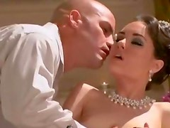 hot classy babe gets fucked on couch Babe