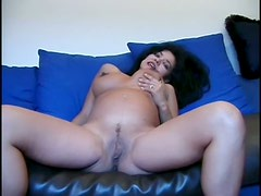 Doggystyle Fucking For Pregnant Brunette