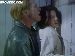 Fucking Sadie Frost Against the Wall