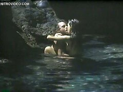 Stunning Brunette Brigitte Bako Gets Fucked In a Submarine Cave