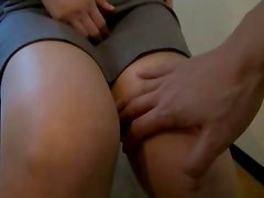 Nervous Japanese MILF