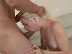 Jayda Diamonde has breath-taking anal sex and gets a facial cumshot