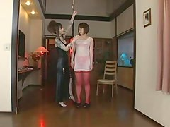 Tattooed Dominant Japanese Lesbian Mistress