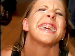 Huge gokun cum swallow