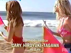Brande Roderick & Stacy Kamano Looking Sexy As Ever In the Beach