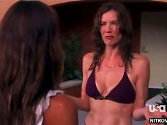 Girl Fight Gabrielle Anwar vs Stacy Haiduk
