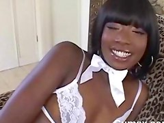 Afro Black Threesome Fucking And Sucking