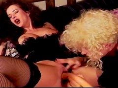 A Hot Lesbian Scene With The Sexy Babes Kelly Woods And Samantha Amour