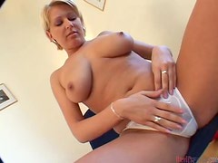 Busty Babe Gets Her Throat Filled With Cum After a Good Fuck