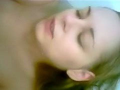 Electric toothbrush masturbation with amateur
