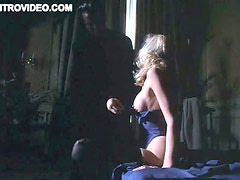 Busty Blonde Babe Philippa Matthews Gets Teased Wearing a Hot Corset