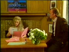 Blonde Retro Whore Victoria Paris Sucks Cock and Gets Fucked in the Office