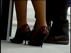 candid shoeplay...