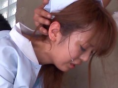 Sexy Asian Nurse Sayaka Fukuyama Sucks Cock With a Sex Toy In her Pussy