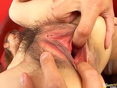 Sinful Asian Slut Mei Natsuka Gets Fucked and Receives a Thick Creampied