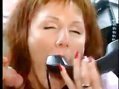 German MILF gets a ASSfuck and play with phone