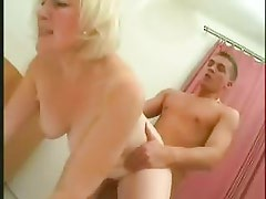 Blonde Chubby Mature Mother