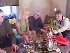 Sexy Mum Has Fun With son's Friends !