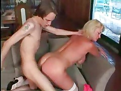horny mom fucking the boyfriend of her daughter