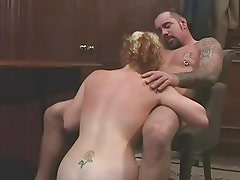 Young Red Head Fucks an Older Man