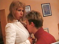 Hot German Mom Teaches School Boy Vol 2