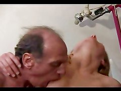 Beautiful Young Girl Loves Small Old Cock !!!