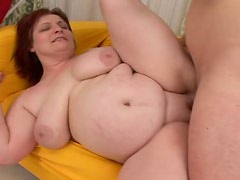 A Hard Fuck For A Kinky Grandma With Big Natural Tits