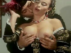 Horny girls get fucked in historical porn movie