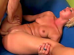 Flexible young girl laid by big cock