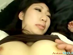 Milf In Skirt Getting Her Pussy Rubbed Stimulated With Vibrator On The Bed