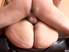 Fat Blond Girl Sucking And Hardcore Riding aCock