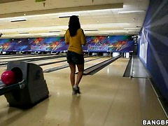 Bowling with Charley Chase, Katie Angel and friends