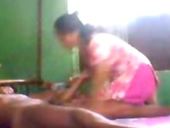 Indian gorgeous teen in pink salwar fucked by neighbor