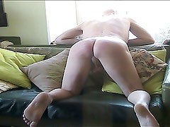 guy caned by russian girl