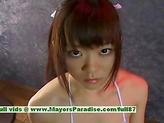 Shoko Yokoy innocent cute asian girl likes to suck cocks